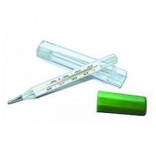 Термометр ртутный в пластиковом футляре