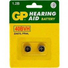 Аккумулятор для слухового аппарата GP 40BVH